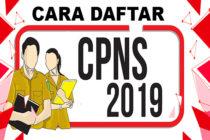 Begini Cara Daftar CPNS Online 2019