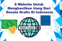 6 Website Menghasilkan Uang Dari Desain Grafis
