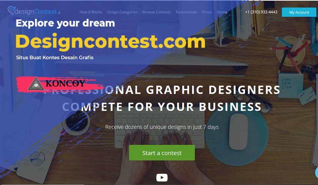 designcontest.com adalah salah satu situs desain grafis