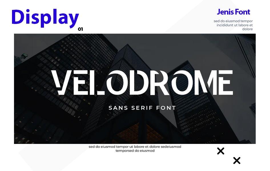 display merupakan salah satu jenis font