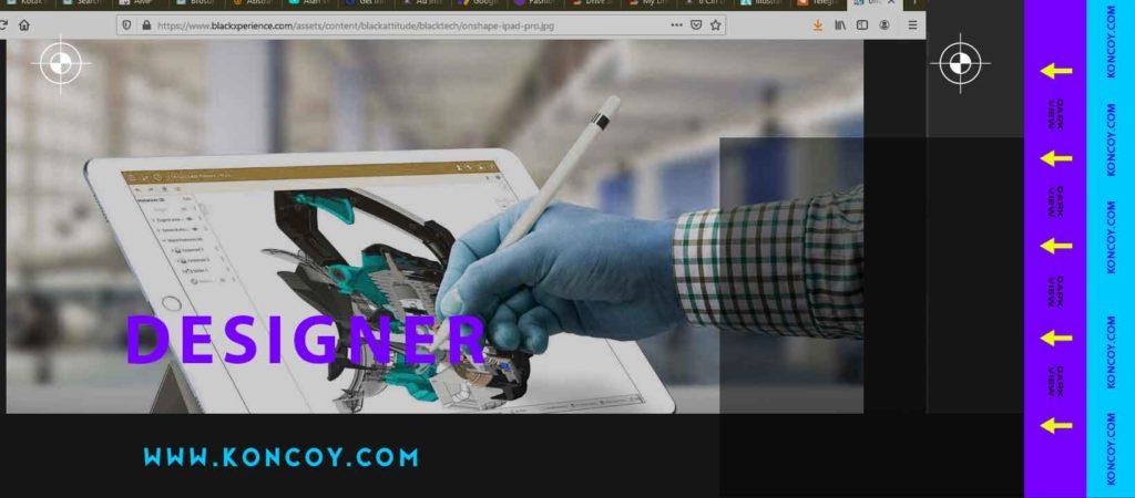 desainer merupakan salah satu aplikasi yang dipakai di ipad untuk vector