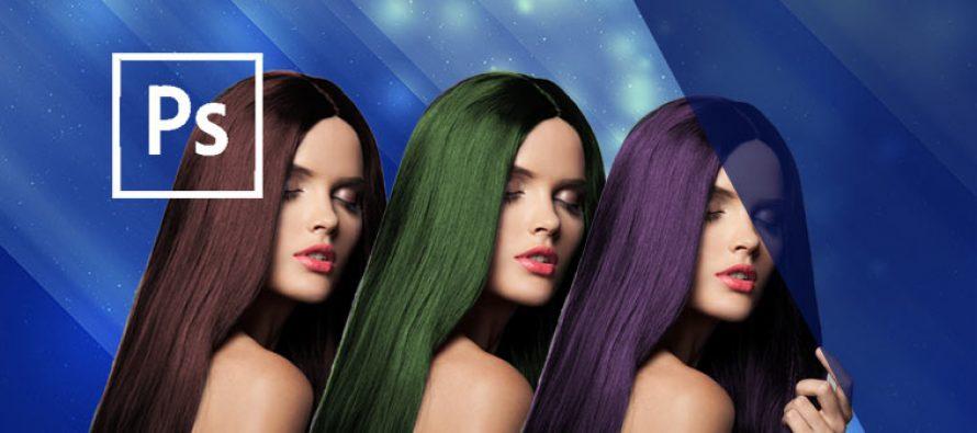 Cara Mengubah Warna Rambut Secara Realistis di Photoshop