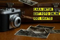 3 Website Penyedia Edit Foto Online 100% Gratis