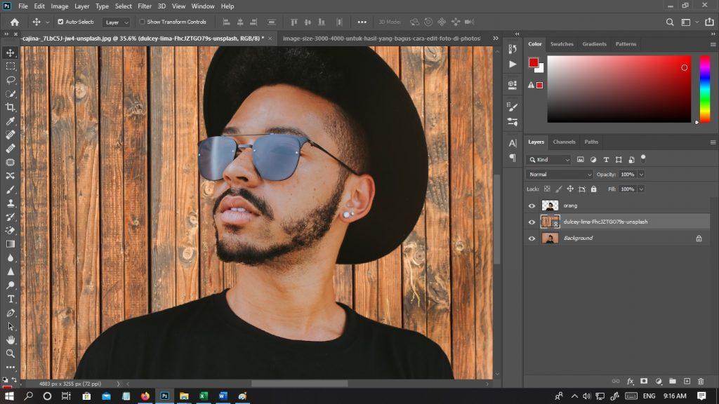 Cara Edit Foto Kolase di Photoshop Dengan Mudah dan Cepat