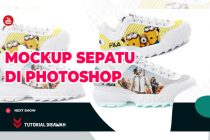 Video Tutorial Cara Membuat Mockup Sepatu di Photoshop