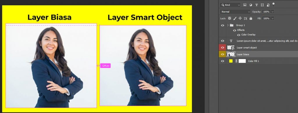 belajar fungsi kegunaan smart object photoshop cc 2020