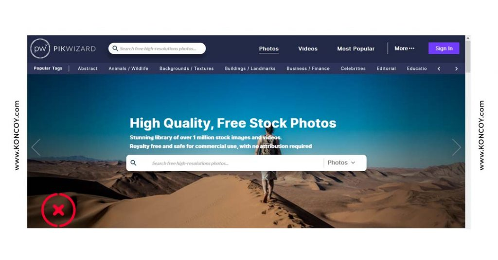 pixwizard merupakan situs downlaod gambar gratis