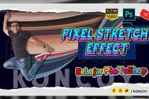 Cara Membuat Pixel Stretch Effect di Photoshop CC 2020