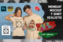 Cara Membuat Mockup Kaos di Photoshop CC 2020