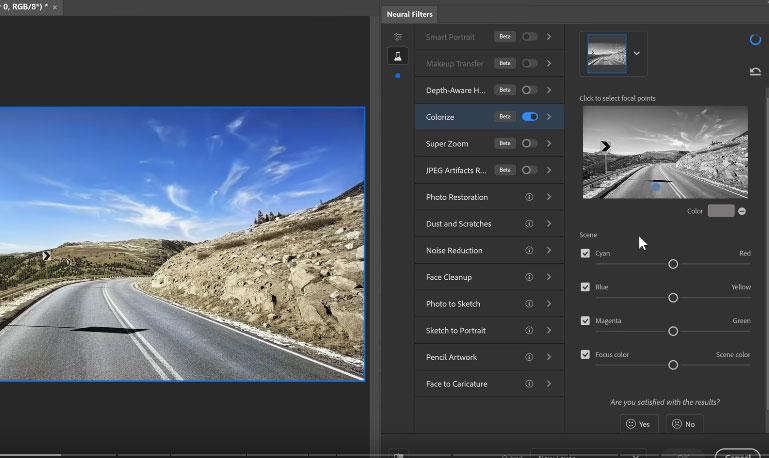 colorize merupakan fitur tambahan dan kelebihan photoshop cc 2021