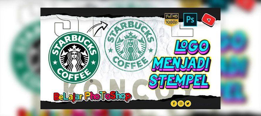 Cara Membuat Logo Menjadi Stempel di Photoshop CC 2021
