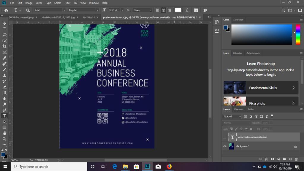Cara Menyamakan Font di Photoshop CC 2019 - KONCOY
