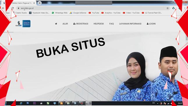buka situs CPNS