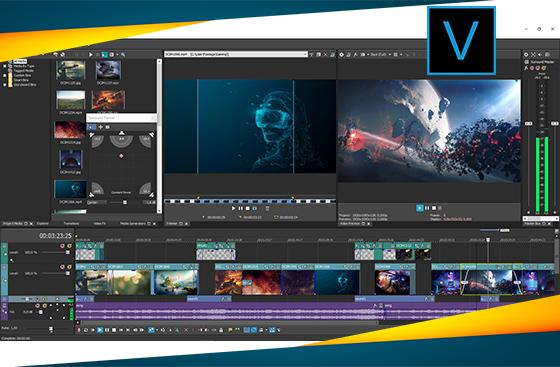 sony vegas pro merupakan aplikasi video editor yang hebat