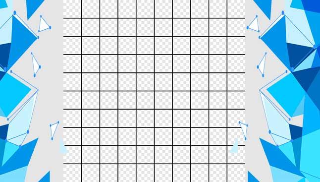 grid pada photoshop