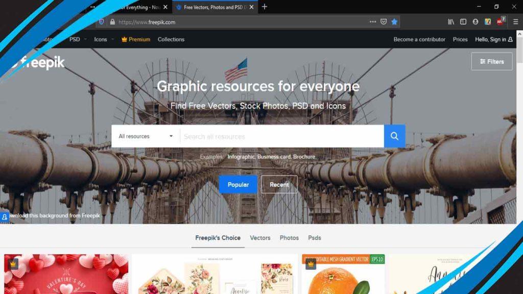 preefik untuk download web vector gratis