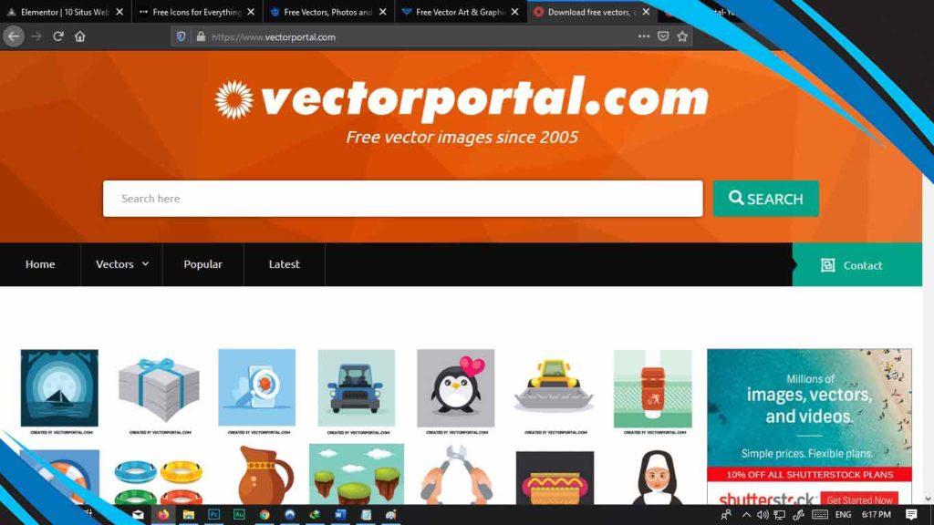vectorportal untuk download vector gratis