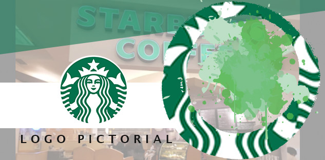 logo pictorial adalah salah satu contoh jenis logo , contohnya yaitu logo starbucks