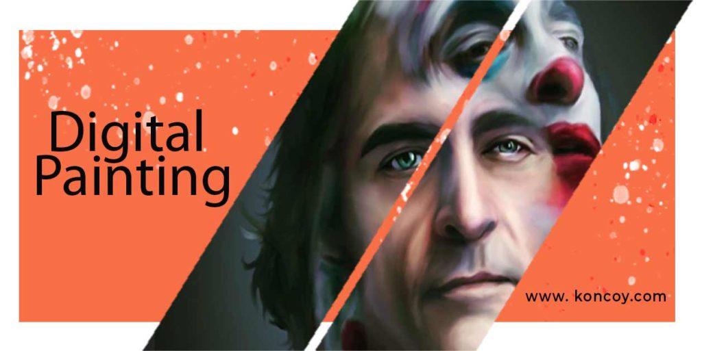 digital painting merupakan ilustrasi yang dibuat dari corel draw