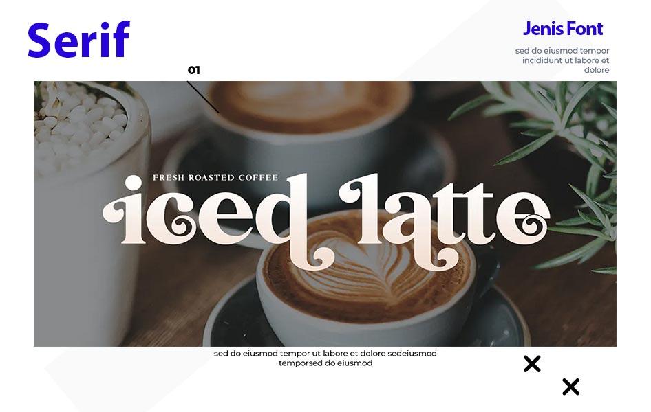 font serif merupakan salah satu jenis font yang disukai