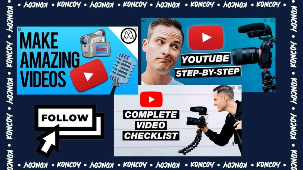 melihat tutorial youtube untuk meningkatkan skill dalam desain