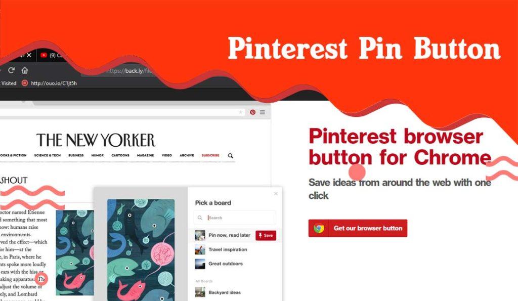 Pinterest pin buat extension desainer grafis