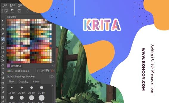 krita merupakan salah satu software untuk menggambar di pc terbaik