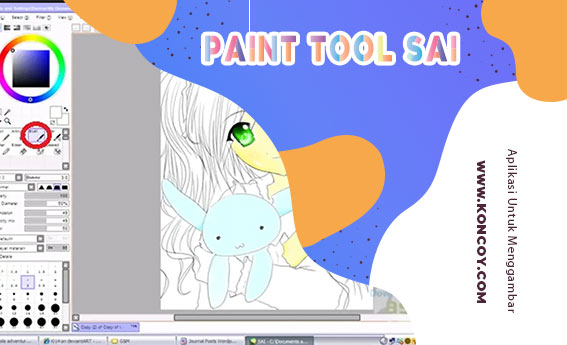 Paint Tool SAI merupakan salah satu aplikasi untuk menggambar PC terbaik