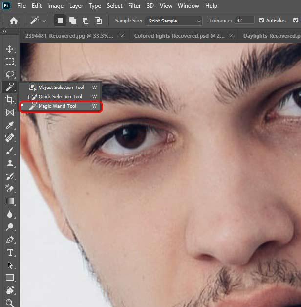 cara menghapus background dengan select subject