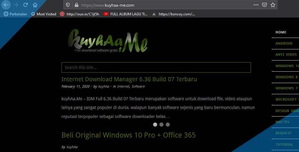 merupakan salah satu situs untuk download aplikasi gratis