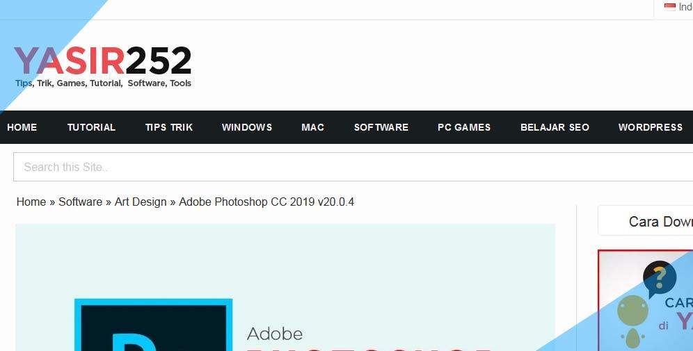 yasir 252 merupakan situs untuk download aplikasi pc