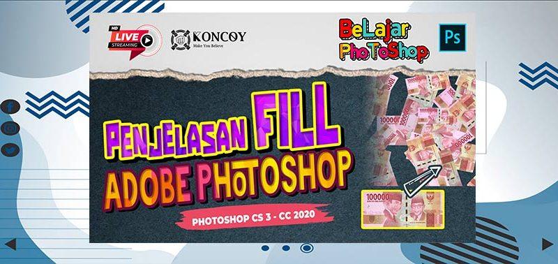 Belajar Dasar Photoshop Content Aware Fill Photoshop CC 2020 Sampai Mahir