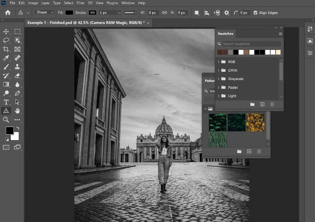 preset search merupakan fitur kelebihan photoshop cc 2021