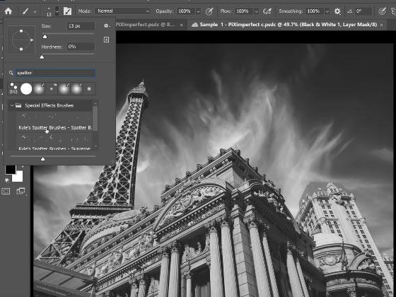 brush search merupakan fitur yang berfungsi dan kelebihan photoshop cc 2021